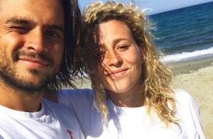 Candice et Jeremy (Koh-Lanta) en compagnie de Maëva Coucke pour élire une Miss