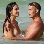 Delphine Wespiser topless avec son chéri Roger, vacances torrides à Djerba