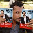 """Willy Rovelli - """"Les écrivains chez Gonzague Saint Bris"""" - 1ère édition à Chanceaux-près-Loches, le 26 août 2018. © Cédric Perrin/Bestimage"""