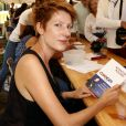"""Natacha Polony - """"Les écrivains chez Gonzague Saint Bris"""" - 1ère édition à Chanceaux-près-Loches, le 26 août 2018. © Cédric Perrin/Bestimage"""