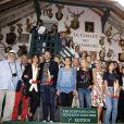 """Tous les auteurs - """"Les écrivains chez Gonzague Saint Bris"""" - 1ère édition à Chanceaux-près-Loches, le 26 août 2018. © Cédric Perrin/Bestimage"""