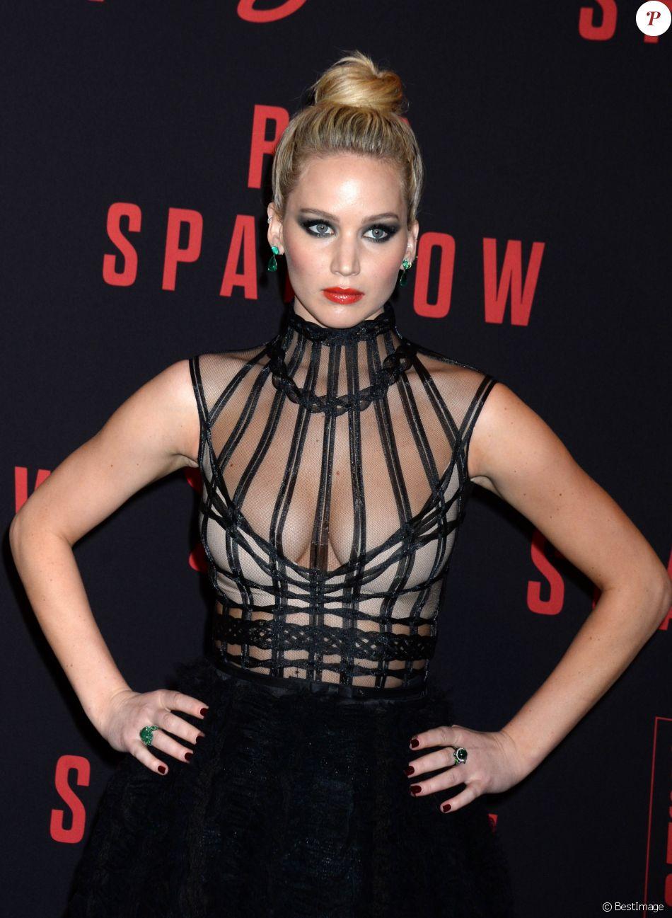"""Jennifer Lawrence - Première du film """"Red Sparrow"""" à New York. Le 26 février 2018"""