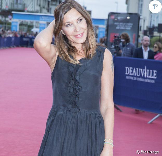 """Zazie - Tapis rouge du film """"Life"""" lors du 41ème Festival du film américain de Deauville, le 5 septembre 2015"""