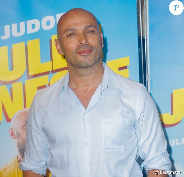 """Eric Judor à la première de """"Roulez Jeunesse"""" au cinéma UGC Ciné Cité les Halles à Paris, le 24 juillet 2018."""