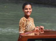Tina Kunakey, jeune mariée féline à Venise et jamais très loin de Vincent Cassel
