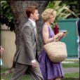 """Felicity Huffman, lors du tournage de """"Desperate Housewives"""", le 1er mai 2009, au Studio Universal de Los Angeles !"""