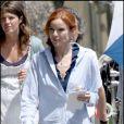 """Marcia Cross, lors du tournage de """"Desperate Housewives"""", le 1er mai 2009, au Studio Universal de Los Angeles !"""