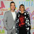 Robbie Williams and wife Ayda Field - Soirée de présentation Stella McCartney Automne 2018 à Pasadena, Californie, Etats-Unis, le 16 janvier 2018. © AdMedia/Zuma Press/Bestimage