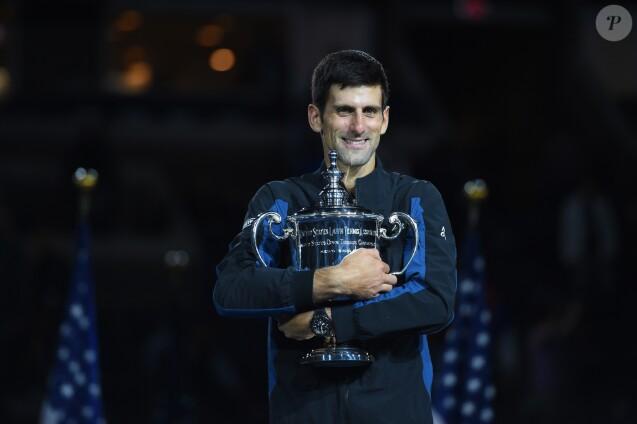 Novak Djokovic, vainqueur de l'US Open de Tennis 2018 à New York, le 9 septembre 2018.to by Corinne Dubreuil/ABACAPRESS.COM10/09/2018 - New York City