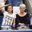 Jelena Djokovic, la femme de Novak, lors du match de son mari le jour 10 de l'US Open au Billie Jean King Center à New York le 5 septembre 2018.
