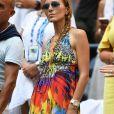 Jelena Djokovic - People dans les tribunes de l'US Open de tennis à Flushing Meadows le 3 septembre 2018.