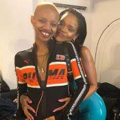 Rihanna : Sa muse Slick Woods défile enceinte... et accouche !