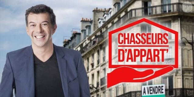 """Logo de """"Chasseurs d'appart'"""" (M6) avec Stéphane Plaza."""