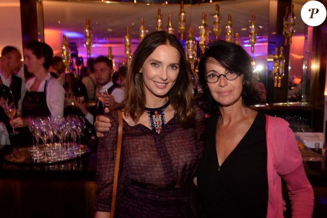 Exclusif - Frédérique Bel et Zabou Breitman lors de l'inauguration du restaurant de l'hôtel Le Collectionneur à Paris, France, le 13 septembre 2018. © Rachid Bellak/Bestimage