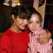 Emma de Caunes et sa fille Nina, complices pour une soirée tricolore