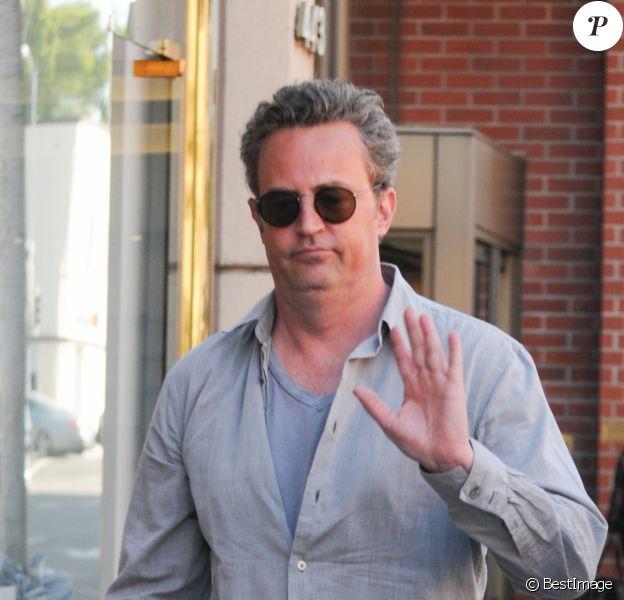 Matthew Perry se rend chez le docteur à Beverly Hills, le 1er septembre 2016