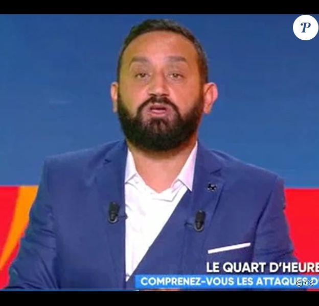 "Cyril Hanouna - ""Touche pas à mon poste"", C8, lundi 10 septembre 2018"