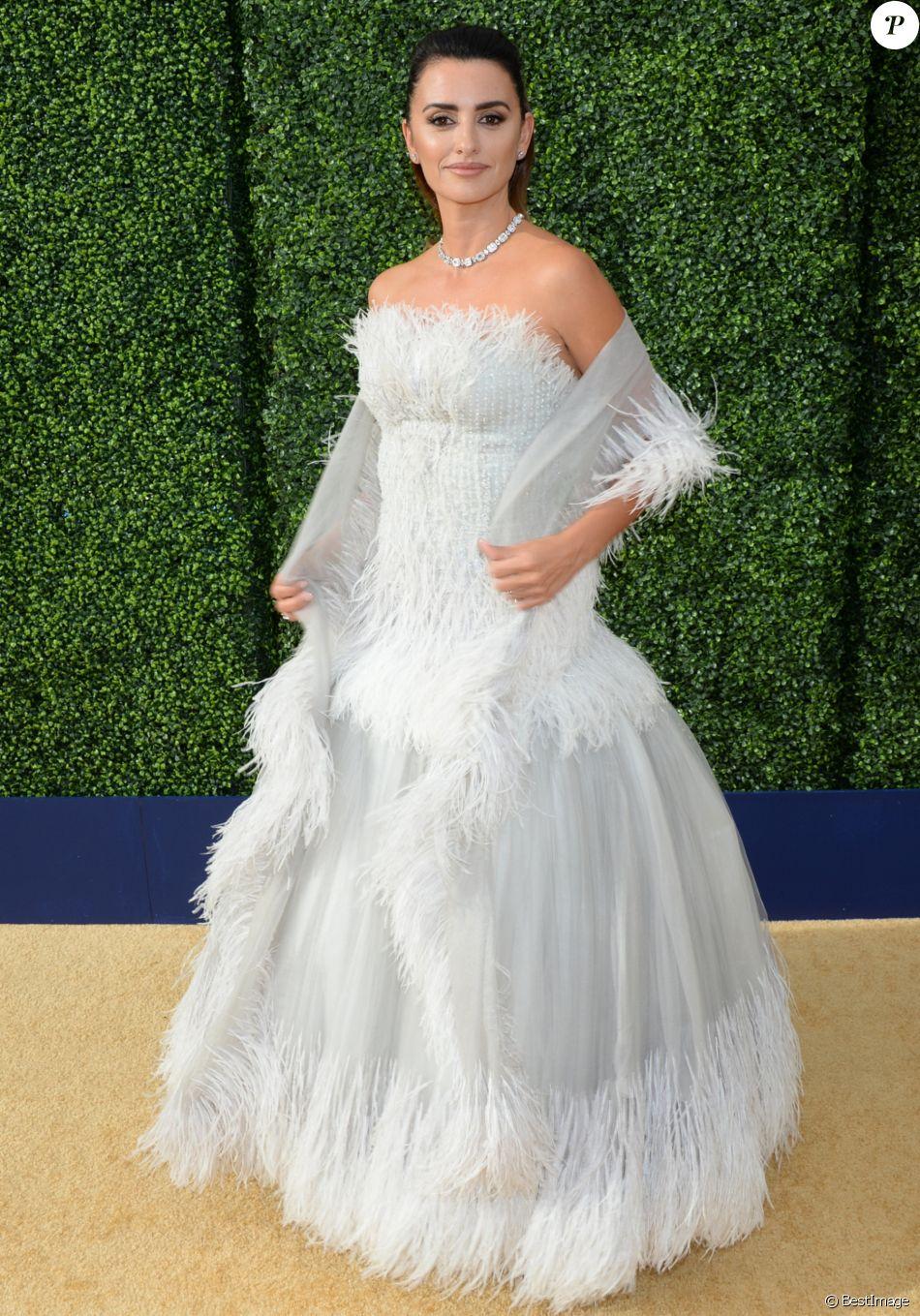 Penélope Cruz au 70ème Primetime Emmy Awards au théâtre Microsoft à Los Angeles, le 17 septembre 2018.