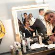 """Exclusif - Helena Noguerra - Backstage de l'enregistrement de l'émission """"On refait les grands duos d'humour"""" au Théâtre de Paris, le 29 mai 2018. Diffusion sur France 3 le 21 septembre à 21 © Romuald Meigneux-Pierre Pérusseau / Bestimage"""
