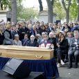 Jean Veil - Obsèques de Marceline Loridan-Ivens, camarade de déportation de Simone Veil, au cimetière du Montparnasse à Paris le 21 septembre 2018.