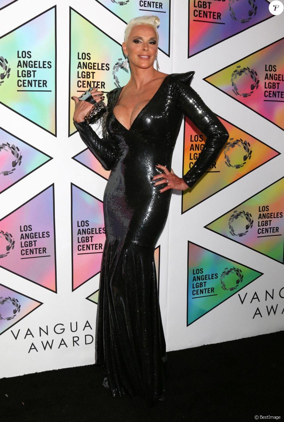 Brigitte Nielsen au 49ème gala d'anniversaire annuel LA LGBT à l'hôtel Beverly Hilton à Beverly Hills, le 23 septembre 2018