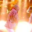 """Vincent Moscato dans """"Danse avec les stars 9"""" sur TF1, le 29 septembre 2018."""