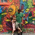 Laurent Ournac et sa fille Ludivine à Toronto, au Canada - Instagram, 31 juillet 2018