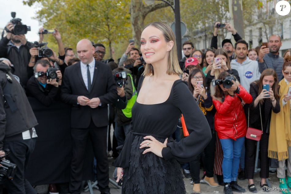 Olivia Wilde arrive au défilé Valentino prêt-à-porter printemps / été 2019 aux Invalides à Paris le 30 septembre 2018. © CVS / Veeren / Bestimage