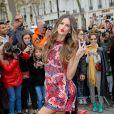 Izabel Goulart arrive au défilé Valentino prêt-à-porter printemps / été 2019 aux Invalides à Paris le 30 septembre 2018. © CVS / Veeren / Bestimage