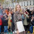 Natalia Vodianova arrive au défilé Valentino prêt-à-porter printemps / été 2019 aux Invalides à Paris le 30 septembre 2018. © CVS / Veeren / Bestimage