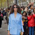 Afef Jnifen arrive au défilé Valentino prêt-à-porter printemps / été 2019 aux Invalides à Paris le 30 septembre 2018. © CVS / Veeren / Bestimage