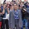 Freida Pinto arrive au défilé Valentino prêt-à-porter printemps / été 2019 aux Invalides à Paris le 30 septembre 2018. © CVS / Veeren / Bestimage
