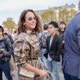 Pauline Ducruet arrive au défilé Valentino prêt-à-porter printemps / été 2019 aux Invalides à Paris le 30 septembre 2018. © CVS / Veeren / Bestimage