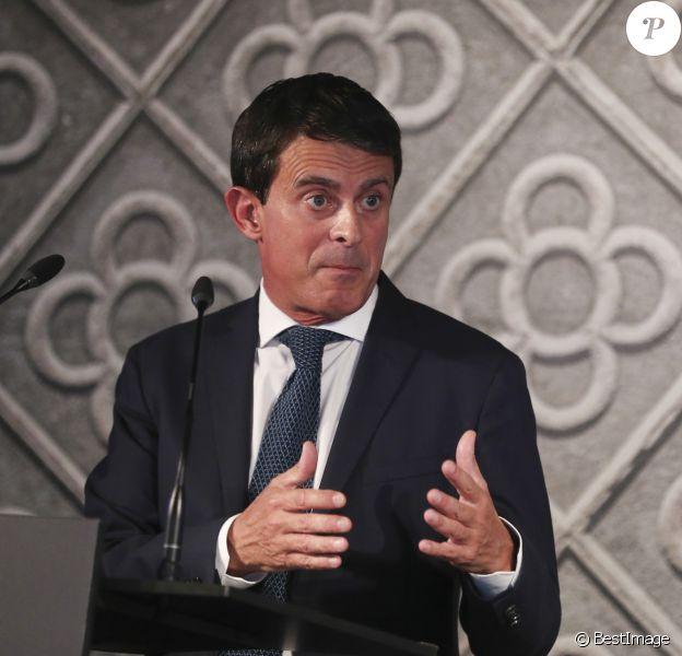 Manuel Valls annonce sa candidature à la mairie de Barcelone et se présente aux élections municipales de mai prochain. Le 25 septembre 2018.