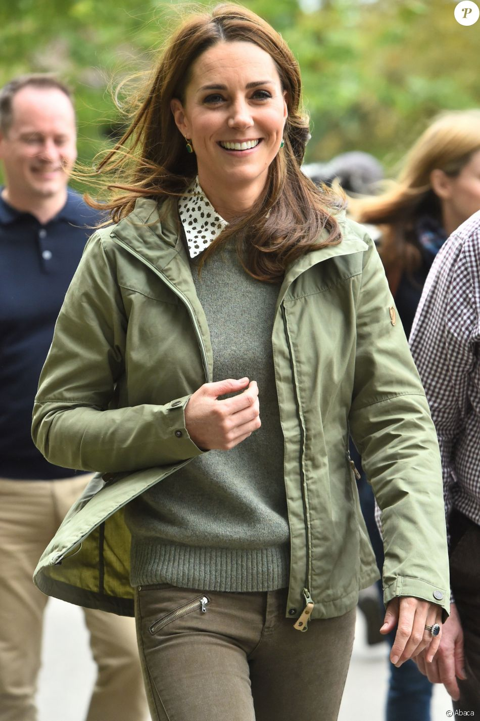 Kate Middleton au Sayers Croft Forest School and Wildlife Garden, Paddington Recreation Ground, Londres, le 2 octobre 2018.