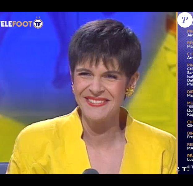 """""""Télé Foot"""" rend hommage à Marianne Mako, dimanche 7 octobre 2018, TF1"""