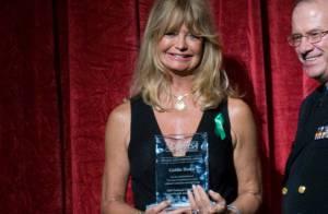 Goldie Hawn est une femme... engagée  !