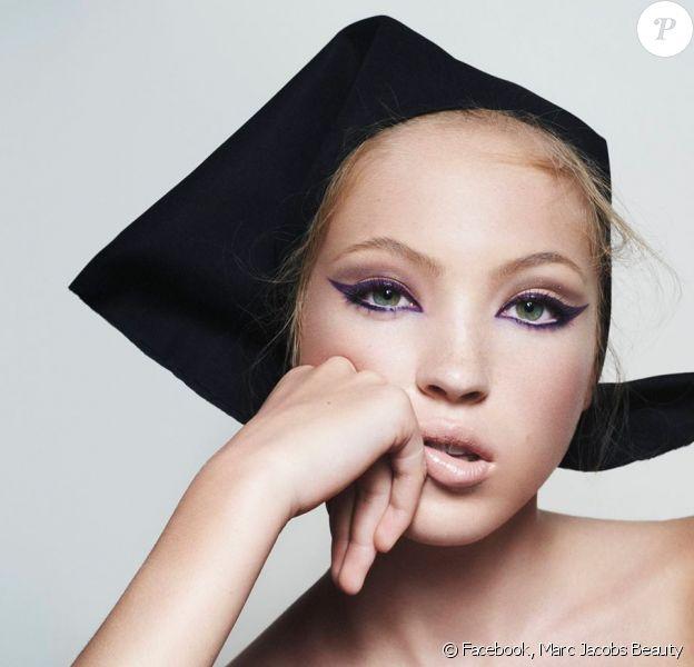 La fille de Kate Moss, Lila, devient égérie de Marc Jacobs Beauty.