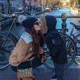 "Barbara des ""Reines du shopping"" et son fils Aaron - Instagram, 16 février 2018"