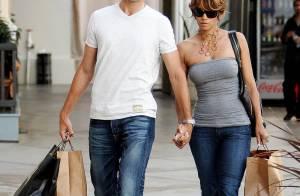 Halle Berry et Gabriel Aubry, un superbe couple et... très amoureux en séance shopping !