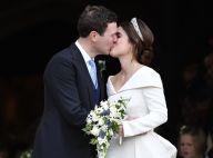 Mariage de la princesse Eugenie : Le tendre baiser des jeunes mariés