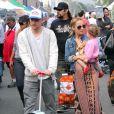 Nicole Richie, son chéri Joel Madden et la petite Harlow