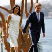Meghan Markle enceinte : Radieuse au bras du prince Harry, baby bump peu visible