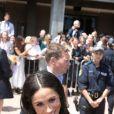 Le prince Harry, duc de Sussex et sa femme Meghan Markle, duchesse de Sussex (enceinte) ont visité le zoo de Taronga puis se sont rendus à l'Opéra de Sydney pour aller à la rencontre des habitants, lors de leur premier voyage officiel le 16 octobre 2018. Ils sont accueillis par Gladys Berejiklian (Premier ministre de la Nouvelle-Galles du Sud).