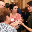 Meghan Markle et le prince Harry ont assisté à une réception donnée en leur honneur à la Admiralty House de Sydney, le 16 octobre 2018