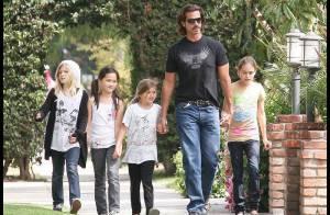 Lorenzo Lamas, totalement fou de ses adorables filles...