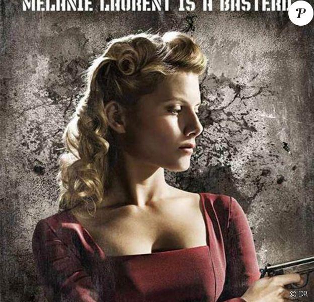 "Mélanie Laurent... dans ""Inglourious Basterds"", de Quentin Tarantino !"