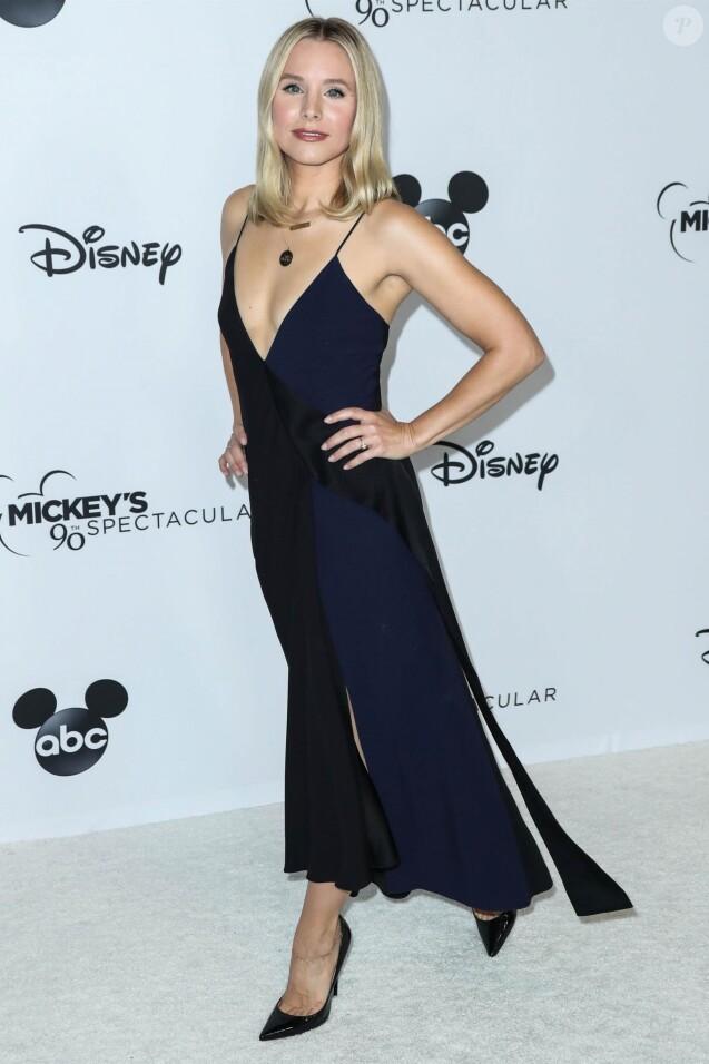 """Kristen Bell - Les célébrités arrivent au """"Mickey's 90th Spectacular"""" à Los Angeles le 6 octobre 2018."""