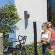 Justin Bieber et sa femme Hailey Baldwin sont allés visiter la maison de Demi Lovato le 17 octobre 2018.