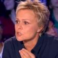 """Muriel Robin s'en prend à Charles Consigny sur le plateau d'""""On n'est pas couché"""" sur France 2, le 20 octobre 2018."""